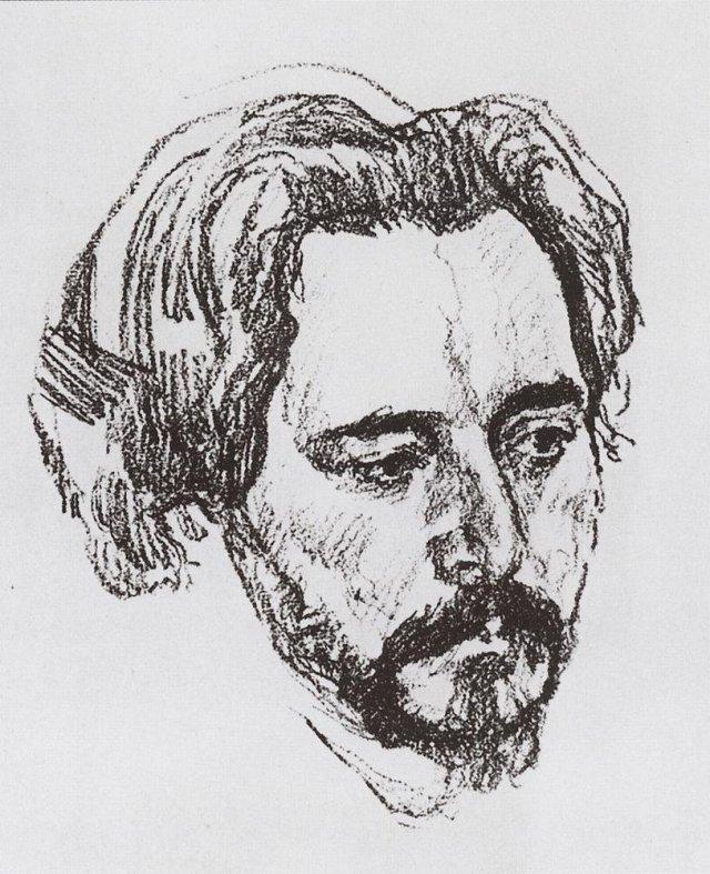 Портрет Л.Н.Андреева. 1907