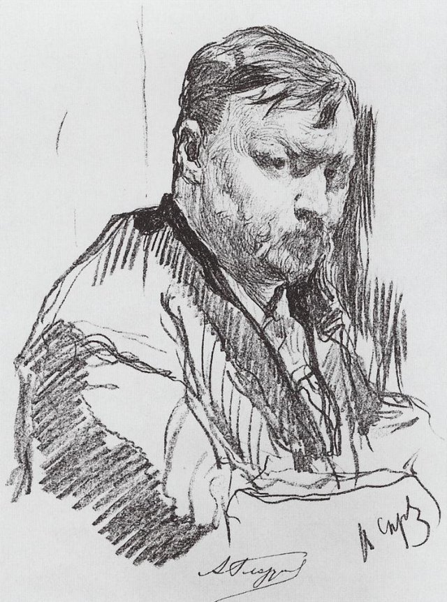 Портрет композитора А.К.Глазунова. 1899