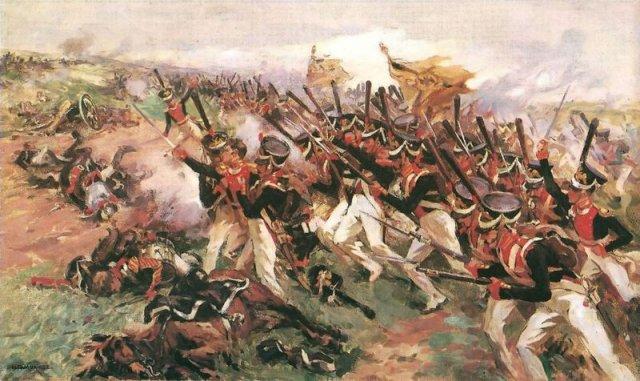 Николай Самокиш, «Атака литовцев» (1912 год)