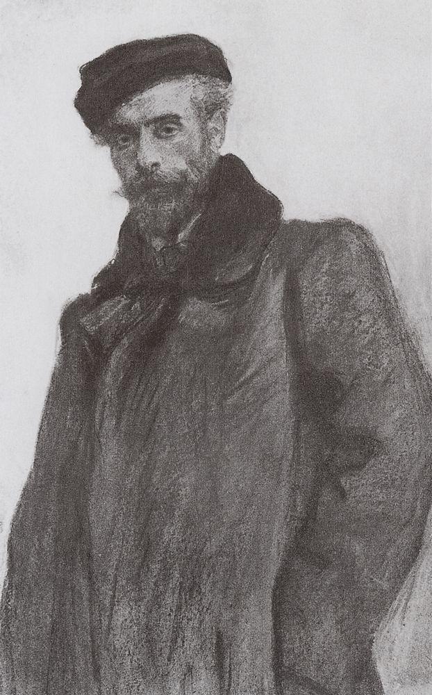 Портрет И.И.Левитана. 1900