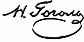 Подпись Николая Гоголя